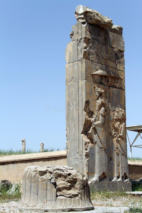 Brama w Persepolis obraz royalty free