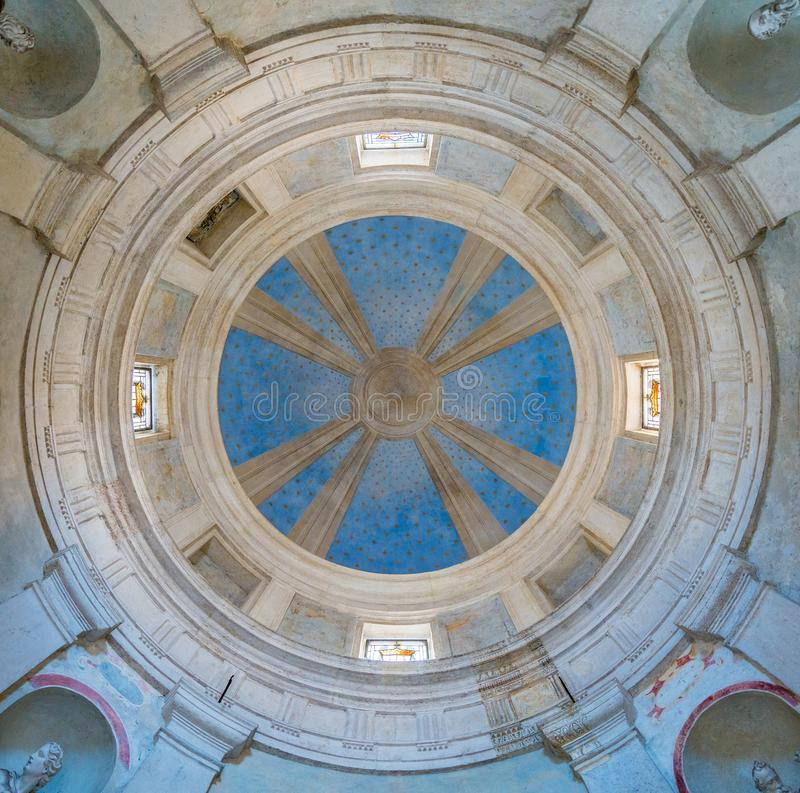 Bramante ` s Tempietto στην εκκλησία του SAN Pietro Montorio στη Ρώμη, Ιταλία στοκ φωτογραφία