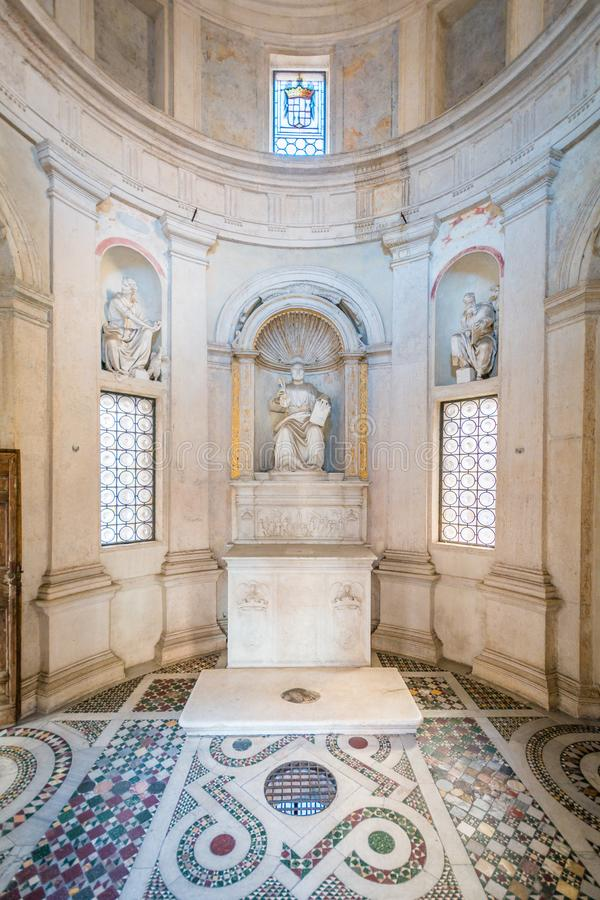 Bramante ` s Tempietto, San Pietro i Montorio, Rome fotografering för bildbyråer