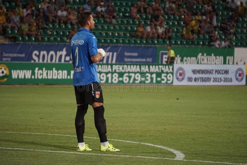 Download Bramkarza Fc Ufa David Yurchenko Zdjęcie Editorial - Obraz złożonej z stadium, soccer: 57656771