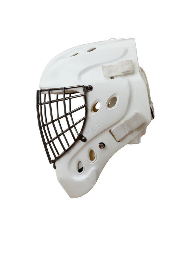 bramkarza hełma hokej zdjęcie royalty free
