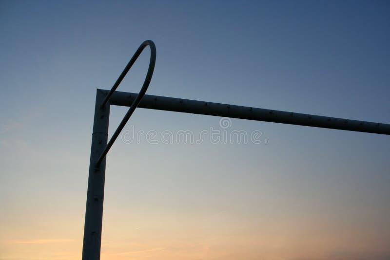 Download Bramkowa Piłka Nożna Sylwetki Zdjęcie Stock - Obraz złożonej z rama, zmierzch: 140444