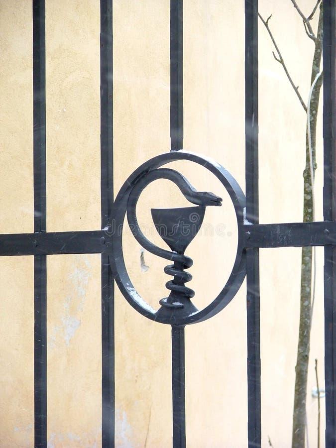 Download Bramy obraz stock. Obraz złożonej z obsada, brama, kruszcowy - 140897