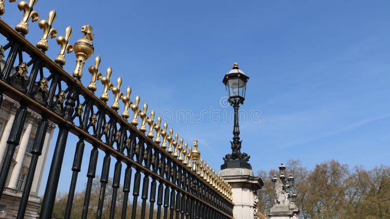 Bramy Buckingham zdjęcia stock