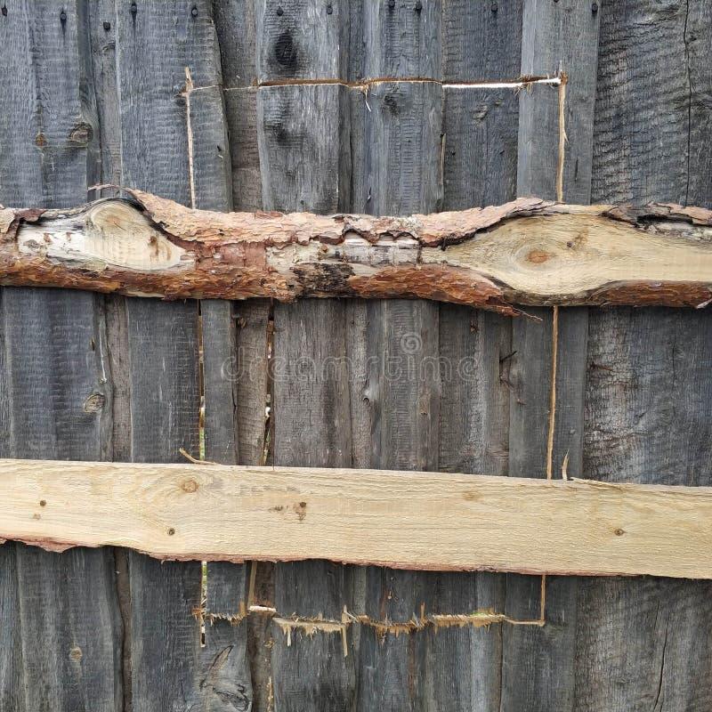 bramy drewniany Drewniana tekstura zamknij drzwi drewniane obraz royalty free
