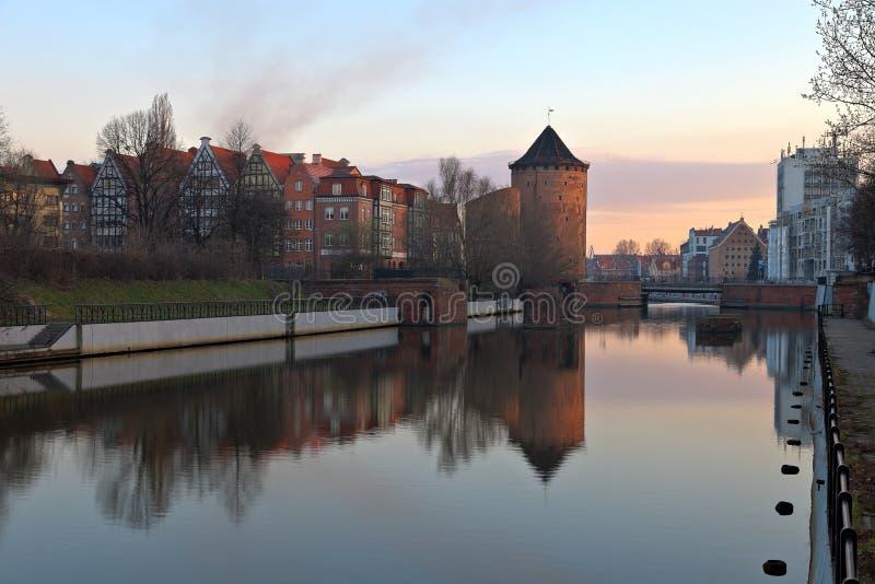 bramy Gdansk Poland stagiewna obraz royalty free