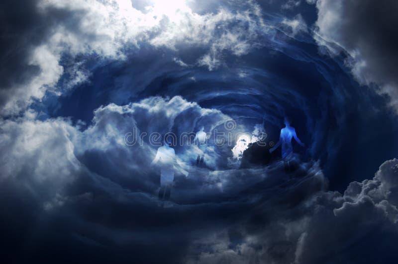bramy niebo royalty ilustracja