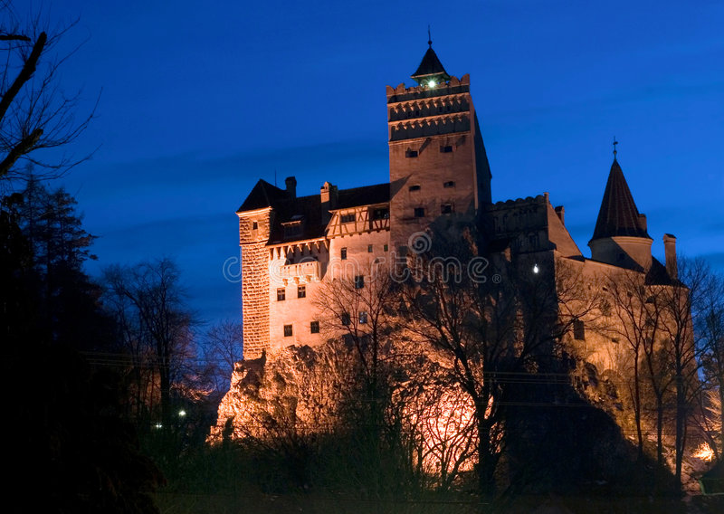 Bran castle. Bram Stoker, who fashioned portions of his character Count Dracula based on aspects of Vlad the Impaler, used Bran Castle as his model for Dracula's stock photos