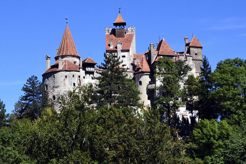 Download Bran Castle Of Dracula - Landmark Of Transylvania Stock Photo - Image of romania, sinister: 26381804