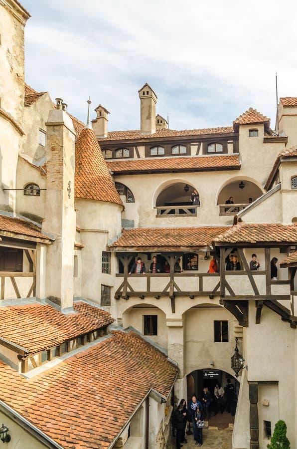 Bran Castle Inside royalty free stock photo