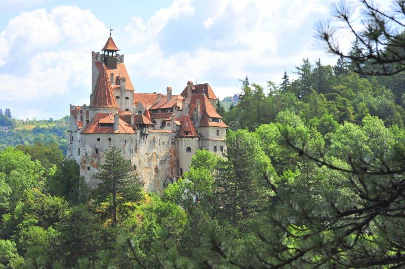 Bran castle stock photography