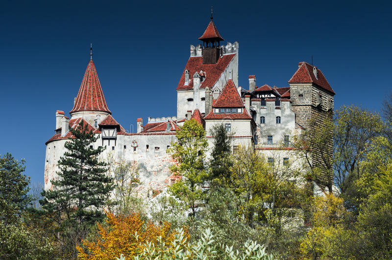 Download Bran Castle, Romania stock photo. Image of travel, tower - 27648982