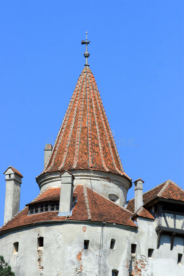 Bran castle, Romania stock image