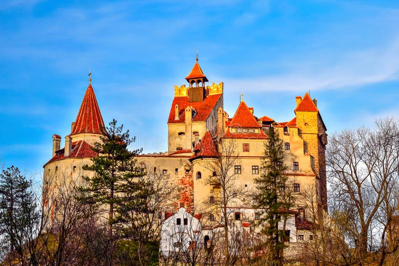 Bran castle, Romania stock photography