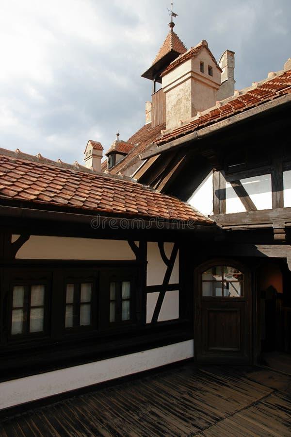 Bran Castle in Transilvania Romania stock photography