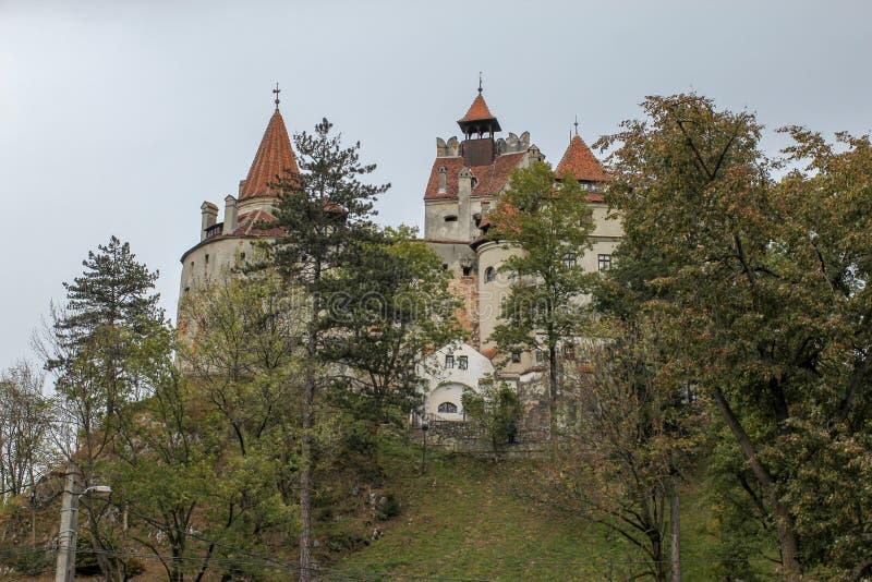 Bran castle in Transylvania, Brasov region of Romania stock images