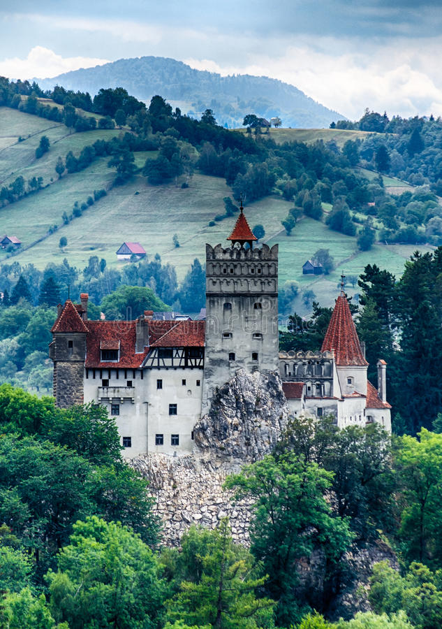 Download Bran Medieval Castle, Transylvania, Romania Stock Photo - Image of dracula, myth: 26312482