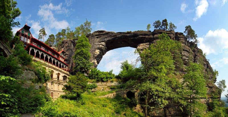 brana czeska pravcicka republika zdjęcie royalty free