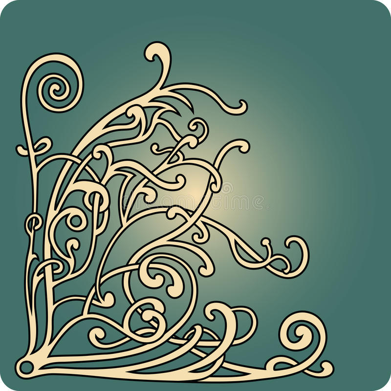 Download Branch stock vector. Image of intricacy, luxury, angle - 23759065