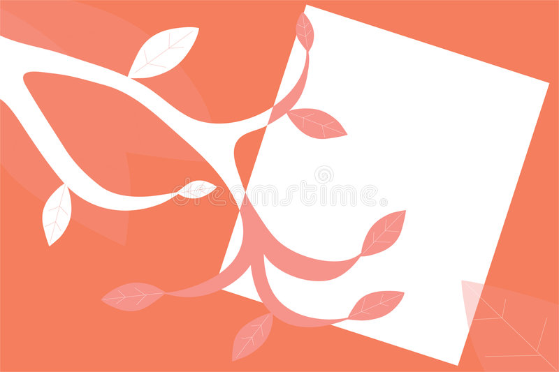 Download Branch and Leaf Background stock illustration. Image of retro - 1962599