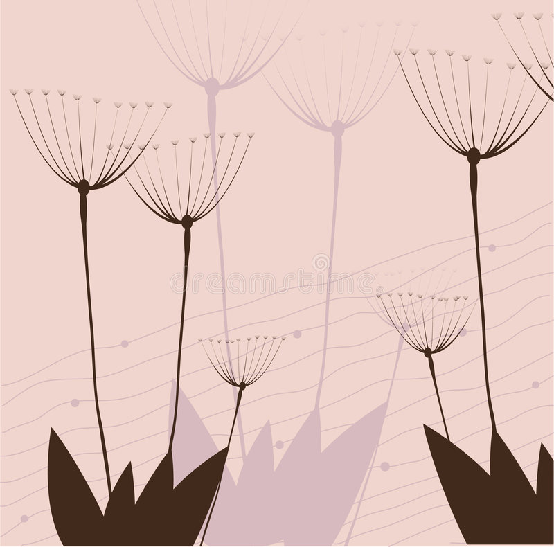 Branch of a plant vector illustration