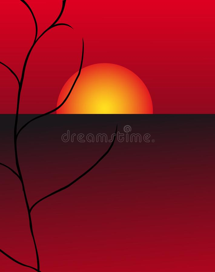 Download Branch of a tree stock illustration. Illustration of chinese - 7791136