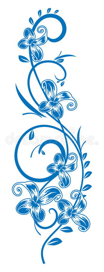 Free Branch-with-flowers. Royalty Free Stock Photos - 15435768