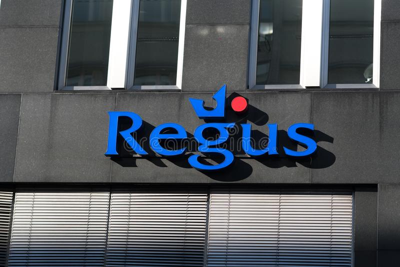 Branche de société de Regus photographie stock libre de droits