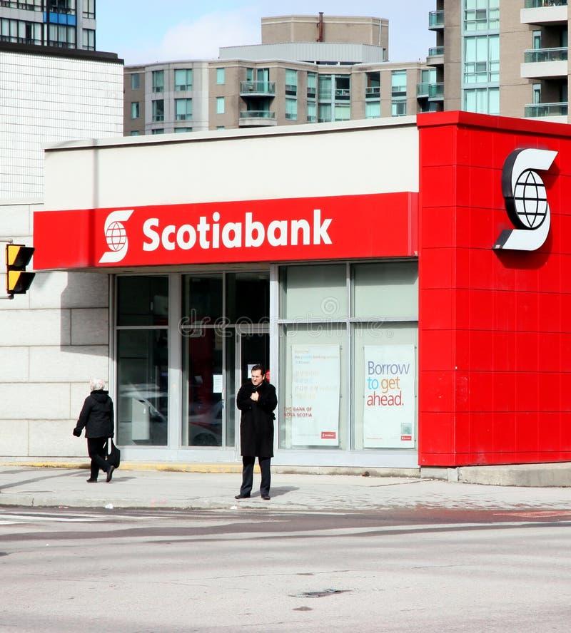 Branchement de Scotiabank images stock