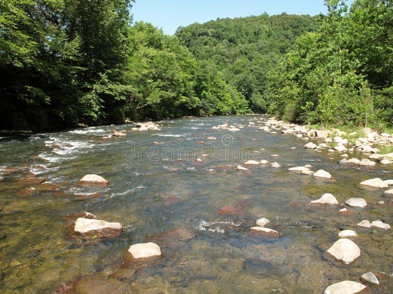 Branchement du nord de fleuve Potomac images stock
