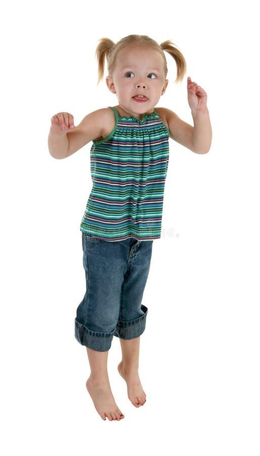 Brancher adorable d'enfant en bas âge images libres de droits