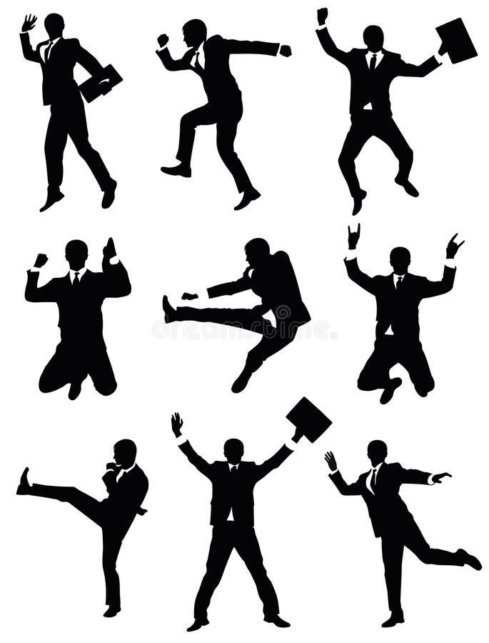 Brancher d'homme d'affaires. illustration stock