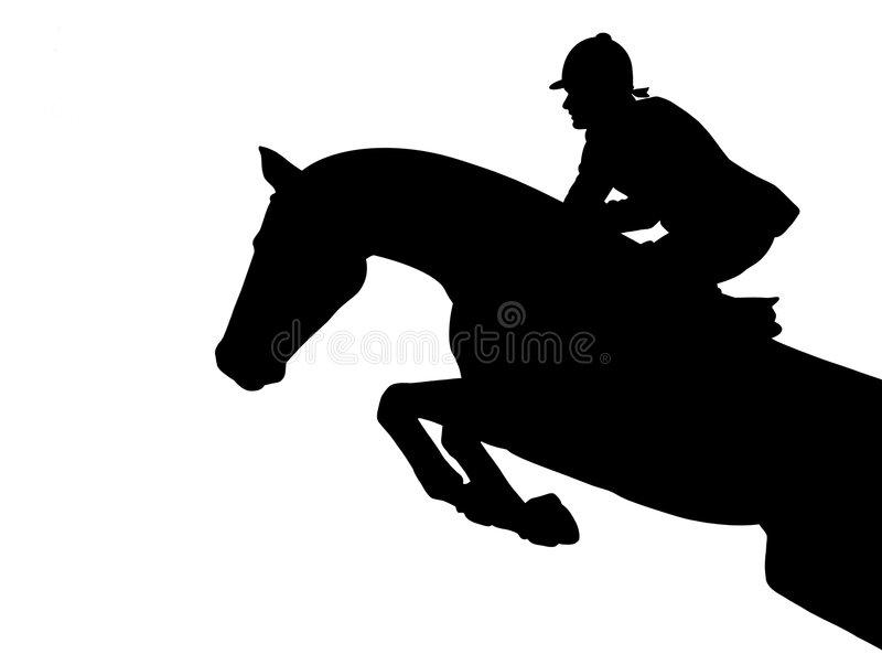 Brancher de cheval illustration stock