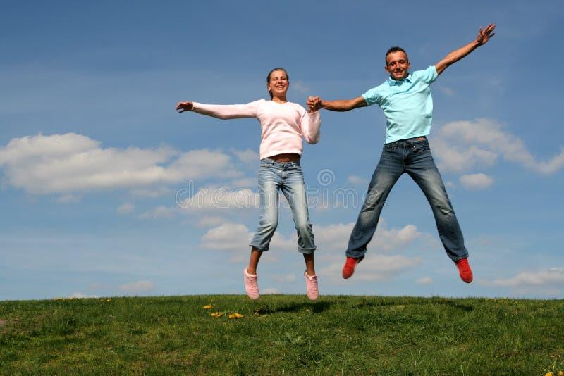 Brancher de couples photographie stock