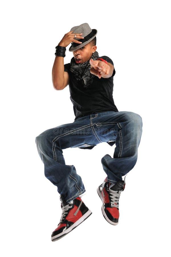 Brancher de danseur de Hip Hop image stock