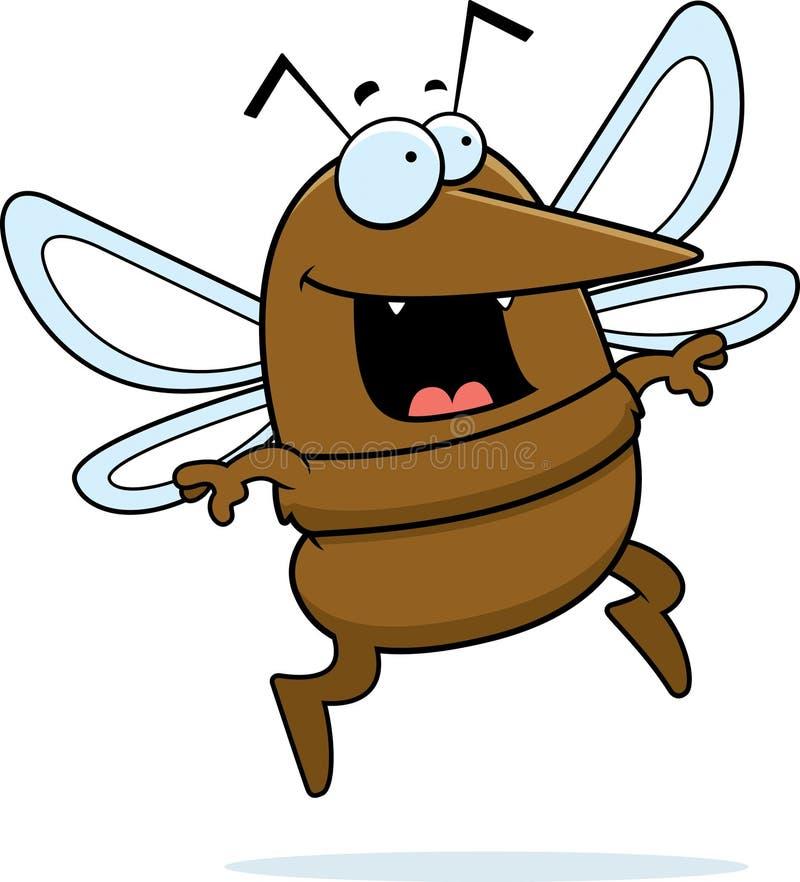 Brancher de moustique illustration stock