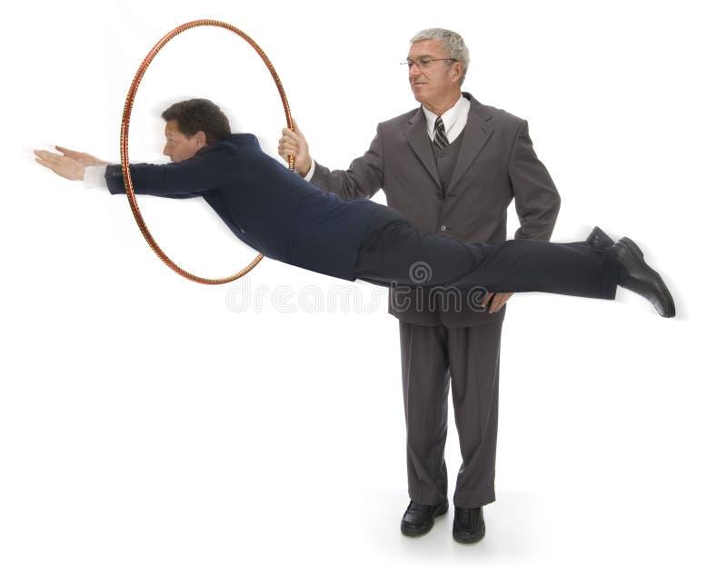 Brancher par des cercles image stock