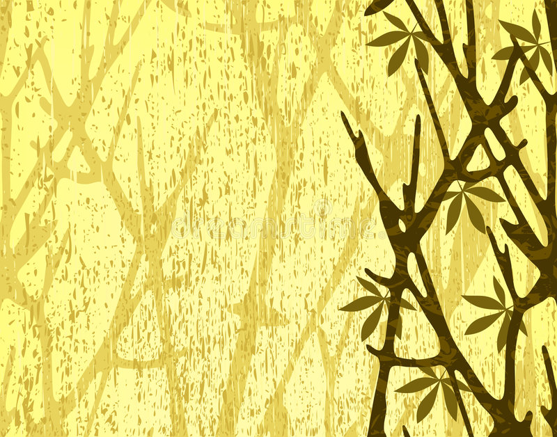 Branches royalty free illustration