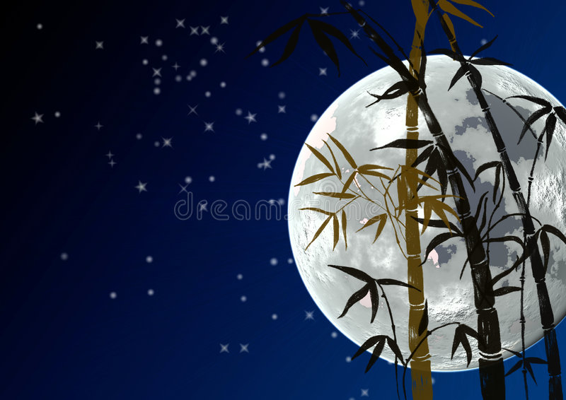 Download Branches of a bamboo stock illustration. Image of grass - 4514425