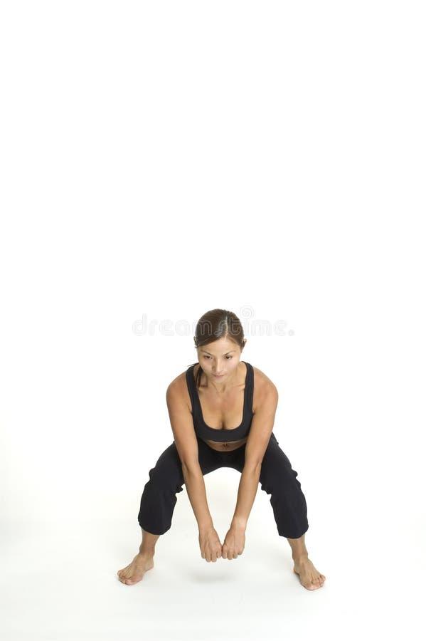 Branchez la posture accroupie 3 photographie stock libre de droits