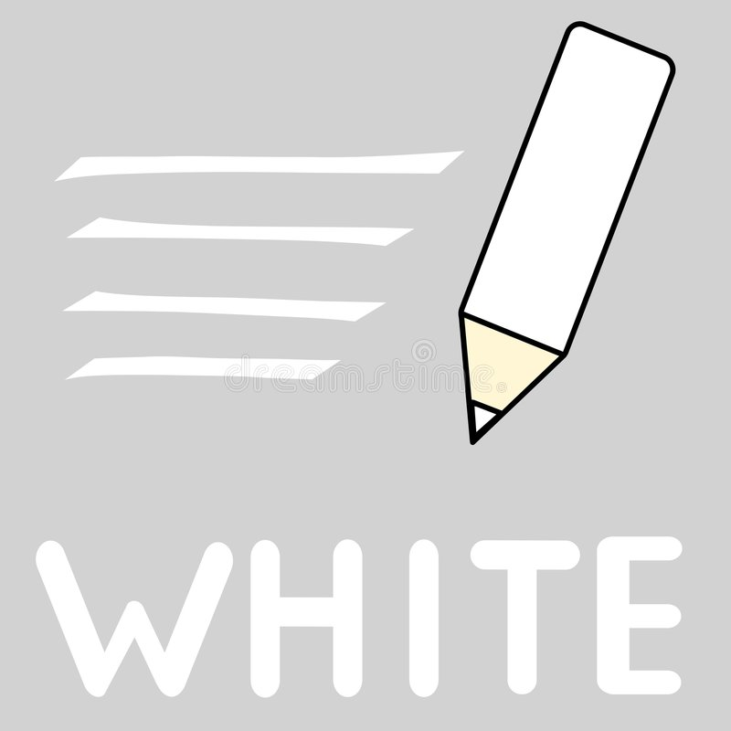 Branco ilustração do vetor