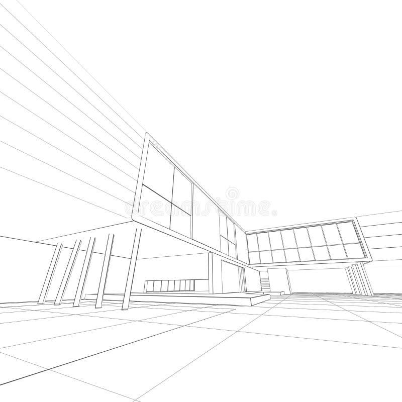 Download Branco do modelo isolado ilustração stock. Ilustração de esboçar - 29846623