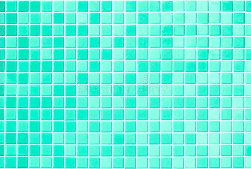 Branco e esverdeie a foto real de alta resolução da parede da telha ou bric foto de stock