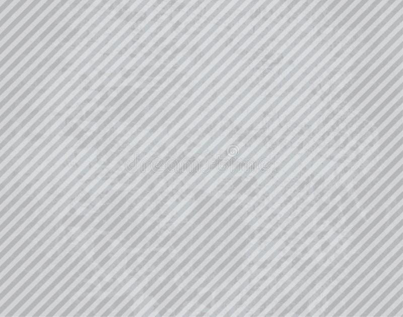 Branco e Grey Paper com listra ilustração royalty free