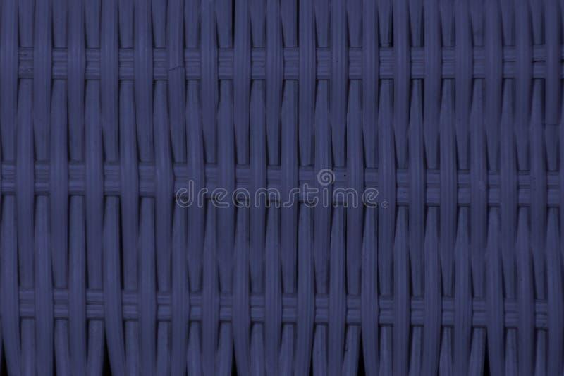 Branco plástico listrado do weave Usado como o fundo foto de stock