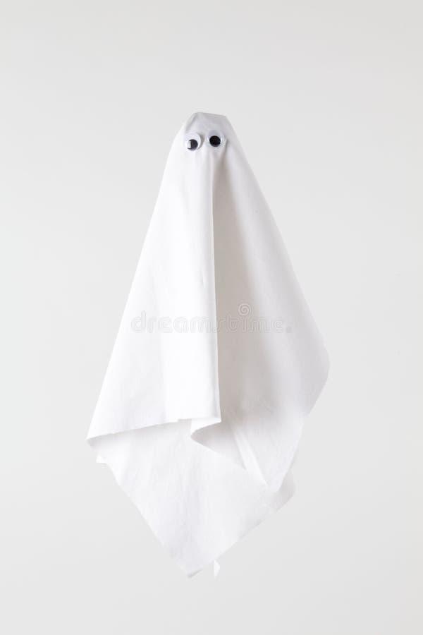 Branco traseiro de Ghost foto de stock