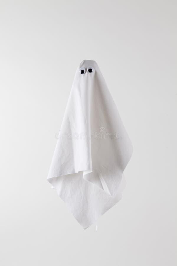 Branco traseiro de Ghost imagens de stock