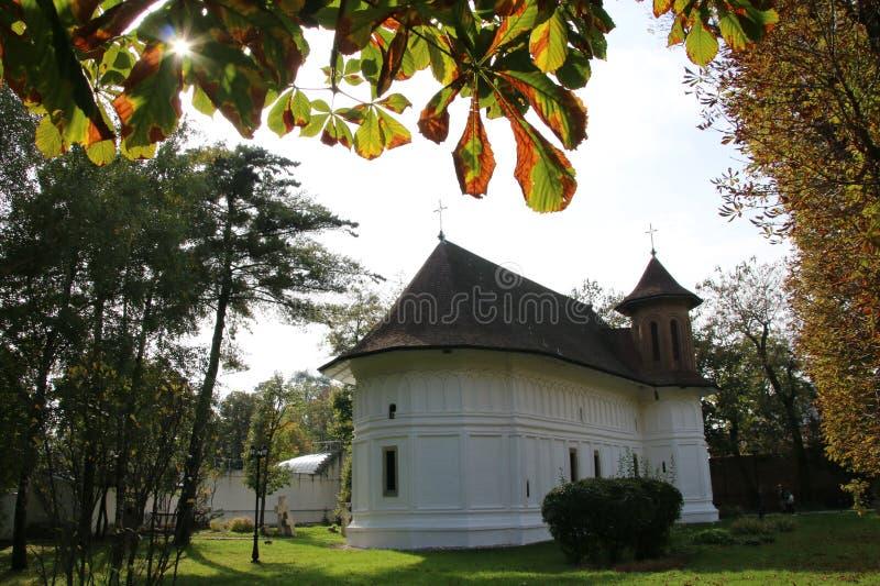 Brancoveanu修道院,罗马尼亚 库存照片