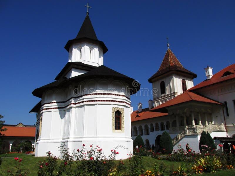Brancoveanu修道院 图库摄影