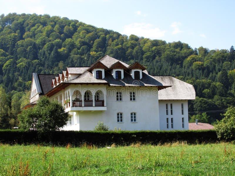 Brancoveanu修道院 免版税库存照片
